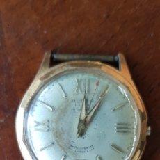 Relojes de pulsera: RELOJ ALBEN LUXE 17 JEWELS PARA RESTAURAR O PIEZAS. Lote 133300413