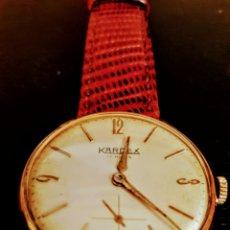 Relojes de pulsera: RELOJ SWSS CARDEX 17RUVIS CHAPADO 10MICRAS ORO DE CUERDA DIAMETRO 35MILIMTROS FUNCIONA PERFECTAMENTE. Lote 133390966