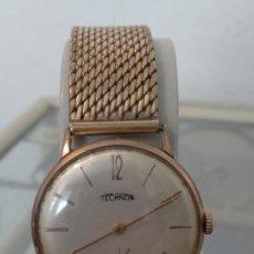 Relojes de pulsera: RELOJ CABALLERO A CUERDA TECHNOS. Lote 133483586