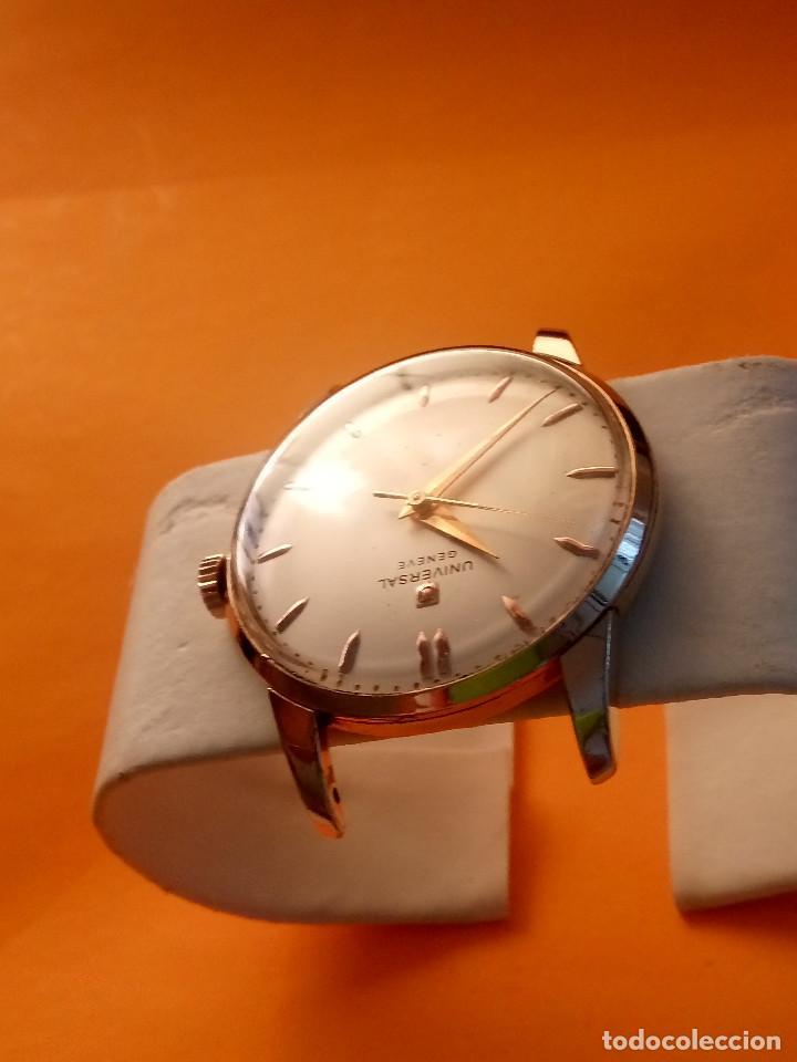 Relojes de pulsera: UNIVERSAL GENEVE - 1.942/49 - (((P.ORO - 30 MICRONES))) CALI. 262 - 34.50 S/C. AUTENTICO. MANUAL. FO - Foto 6 - 133534222