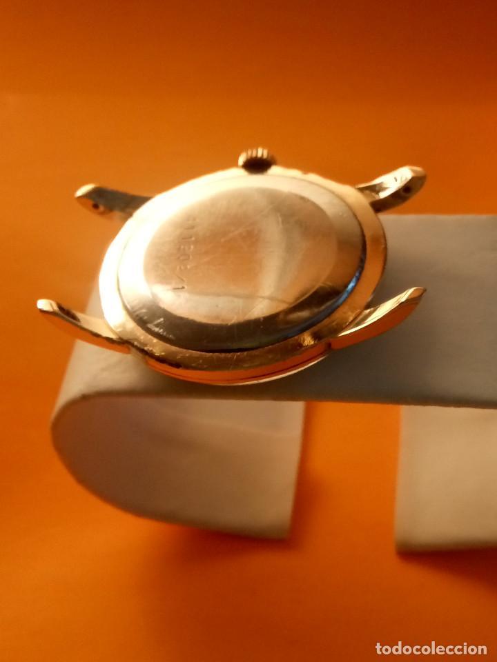 Relojes de pulsera: UNIVERSAL GENEVE - 1.942/49 - (((P.ORO - 30 MICRONES))) CALI. 262 - 34.50 S/C. AUTENTICO. MANUAL. FO - Foto 9 - 133534222