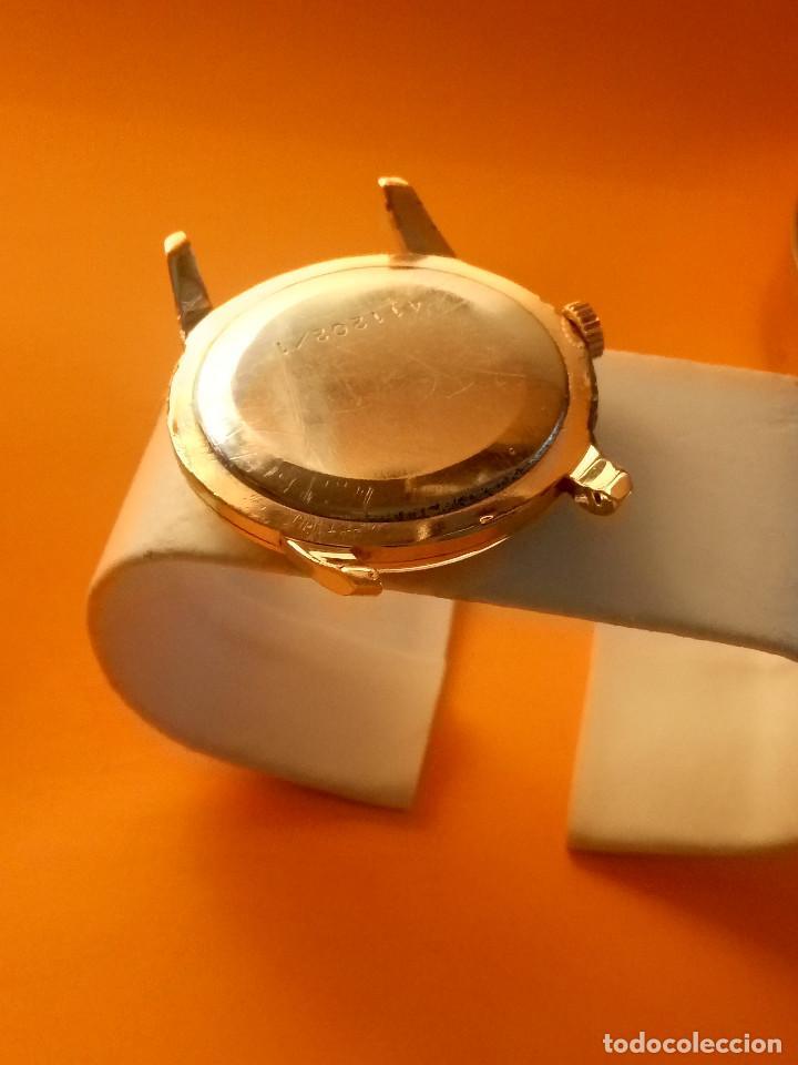 Relojes de pulsera: UNIVERSAL GENEVE - 1.942/49 - (((P.ORO - 30 MICRONES))) CALI. 262 - 34.50 S/C. AUTENTICO. MANUAL. FO - Foto 10 - 133534222
