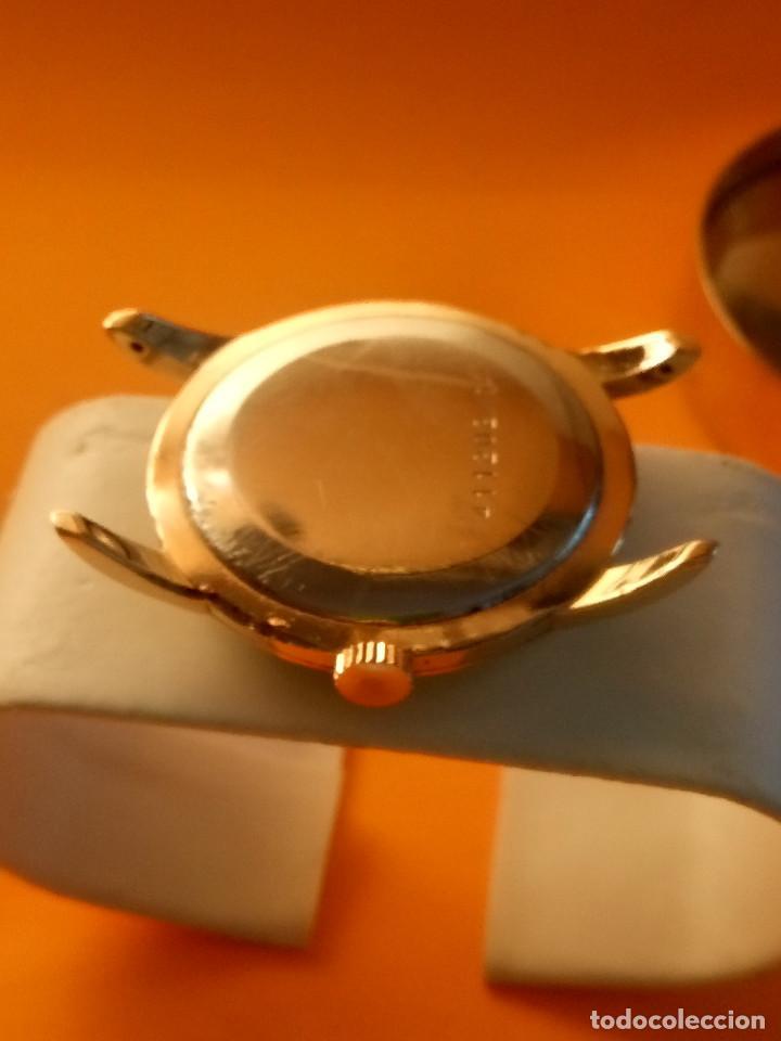 Relojes de pulsera: UNIVERSAL GENEVE - 1.942/49 - (((P.ORO - 30 MICRONES))) CALI. 262 - 34.50 S/C. AUTENTICO. MANUAL. FO - Foto 11 - 133534222