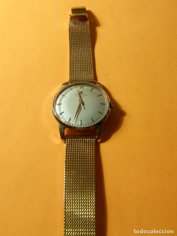 Relojes de pulsera: UNIVERSAL GENEVE - 1.942/49 - (((P.ORO - 30 MICRONES))) CALI. 262 - 34.50 S/C. AUTENTICO. MANUAL. FO - Foto 14 - 133534222