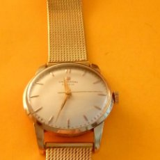 Relojes de pulsera: UNIVERSAL GENEVE - 1.942/49 - (((P.ORO - 30 MICRONES))) CALI. 262 - 34.50 S/C. AUTENTICO. MANUAL.. Lote 133534222