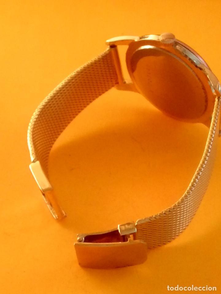 Relojes de pulsera: UNIVERSAL GENEVE - 1.942/49 - (((P.ORO - 30 MICRONES))) CALI. 262 - 34.50 S/C. AUTENTICO. MANUAL. FO - Foto 15 - 133534222