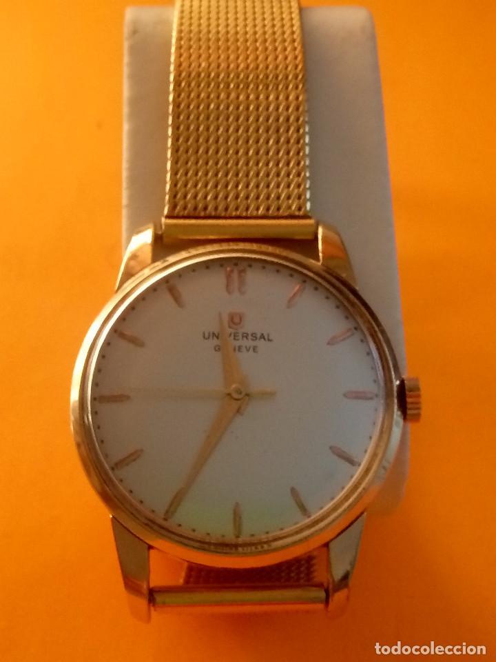 Relojes de pulsera: UNIVERSAL GENEVE - 1.942/49 - (((P.ORO - 30 MICRONES))) CALI. 262 - 34.50 S/C. AUTENTICO. MANUAL. FO - Foto 16 - 133534222