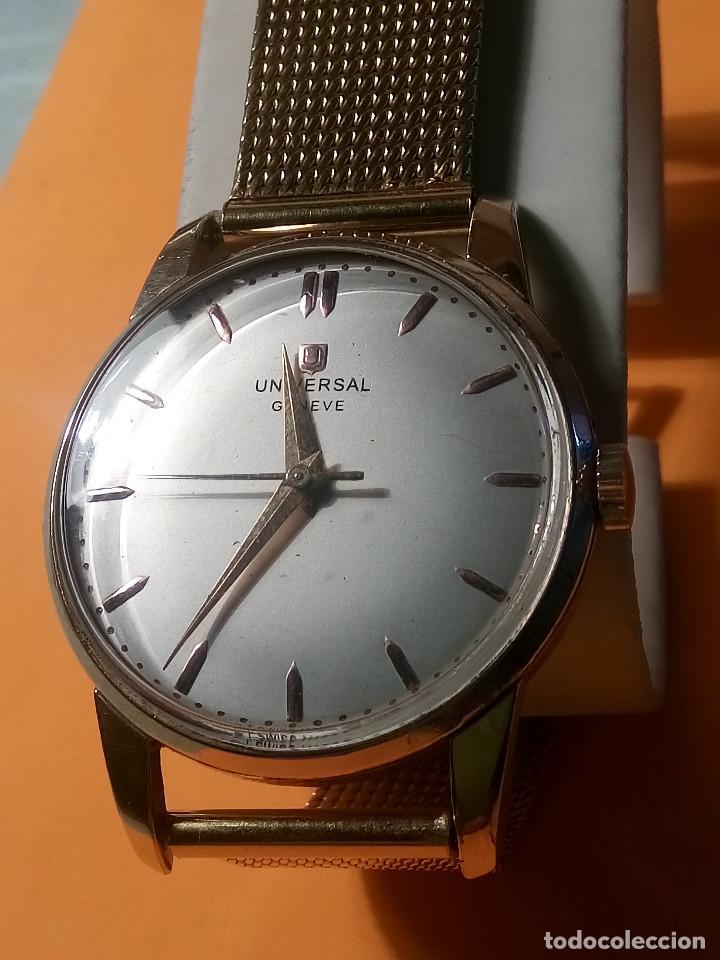 Relojes de pulsera: UNIVERSAL GENEVE - 1.942/49 - (((P.ORO - 30 MICRONES))) CALI. 262 - 34.50 S/C. AUTENTICO. MANUAL. FO - Foto 18 - 133534222