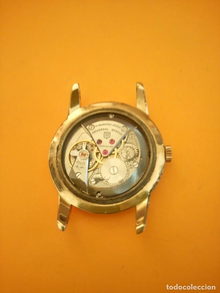 Relojes de pulsera: UNIVERSAL GENEVE - 1.942/49 - (((P.ORO - 30 MICRONES))) CALI. 262 - 34.50 S/C. AUTENTICO. MANUAL. FO - Foto 20 - 133534222