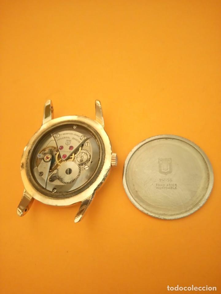 Relojes de pulsera: UNIVERSAL GENEVE - 1.942/49 - (((P.ORO - 30 MICRONES))) CALI. 262 - 34.50 S/C. AUTENTICO. MANUAL. FO - Foto 21 - 133534222