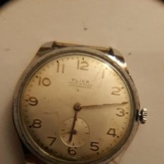 Relojes de pulsera: RELOJ DE PULSERA CARGA MANUAL,FLICA ANCRE 15 RUBIS, FUNCIONA, 39 MM, FUNCIONA. Lote 133535410