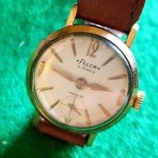 Relojes de pulsera: RELOJ FELCA C1960 VINTAGE. Lote 133542594