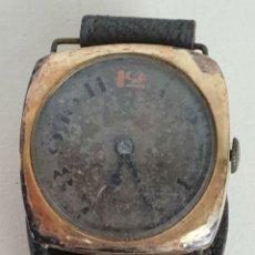 Relojes de pulsera: RELOJ DE PULSERA. ORO DE 18K. SUIZA. MAQUINARIA SIN MARCA. CIRCA 1930. . Lote 133696154