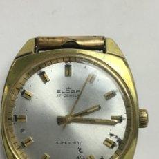 Relojes de pulsera: RELOJ ELOGA CARGA MANUAL CAJA CHAPADA EN FUNCIONAMIENTO. Lote 133732189