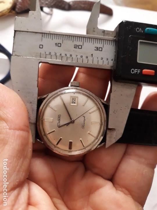 Relojes de pulsera: RELOJ DE PULSERA CABALLERO CARGA MANUAL,duward triunph, funciona,ver descripcion y fotos - Foto 8 - 133800826