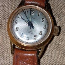 Relojes de pulsera: PEQUEÑO RELOJ PULSERA ELFA FUNCIONA PERFECTAMENTE. Lote 133865426