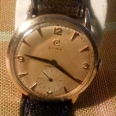 Relojes de pulsera - CYMA - MANUAL. FUNCIONANDO. AÑOS 50. REVISADO. P.ORO 20 MICRAS. INFO-DESCRIPCION Y FOTOS. - 134025350