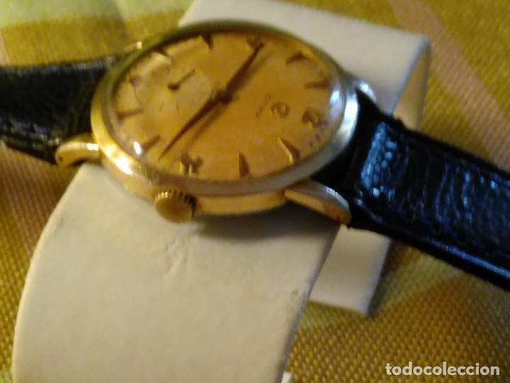 Relojes de pulsera: CYMA - MANUAL. FUNCIONANDO. CALIBRE 458 AÑOS 50. 20 MICRAS. REVISADO TALLER RELOJERO. FOTOS Y DESCRI - Foto 2 - 134025350