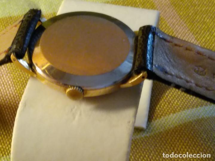 Relojes de pulsera: CYMA - MANUAL. FUNCIONANDO. CALIBRE 458 AÑOS 50. 20 MICRAS. REVISADO TALLER RELOJERO. FOTOS Y DESCRI - Foto 4 - 134025350