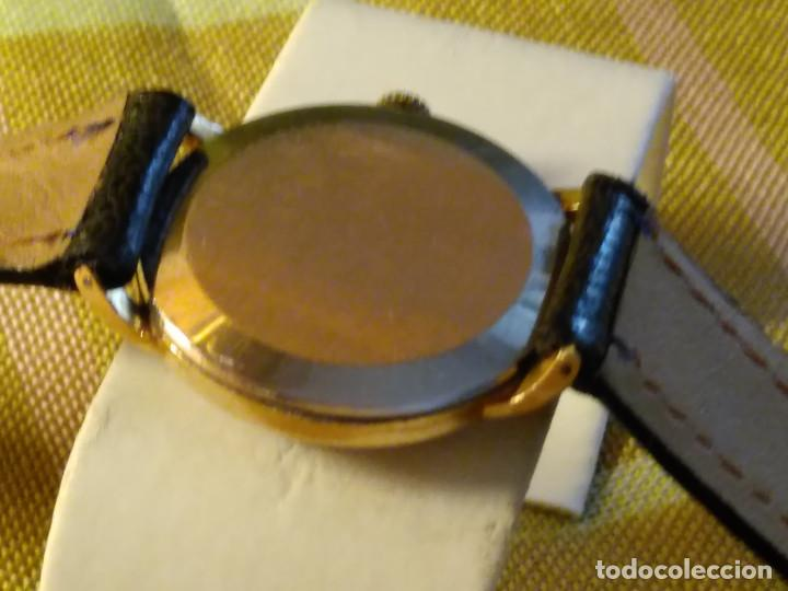 Relojes de pulsera: CYMA - MANUAL. FUNCIONANDO. CALIBRE 458 AÑOS 50. 20 MICRAS. REVISADO TALLER RELOJERO. FOTOS Y DESCRI - Foto 5 - 134025350