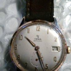 Relojes de pulsera: RELOJ YEMA, CHAPADO EN ORO, PERFECTO, BUEN FUNCIONAMIENTO ,COLECCIONABLE. Lote 134055019