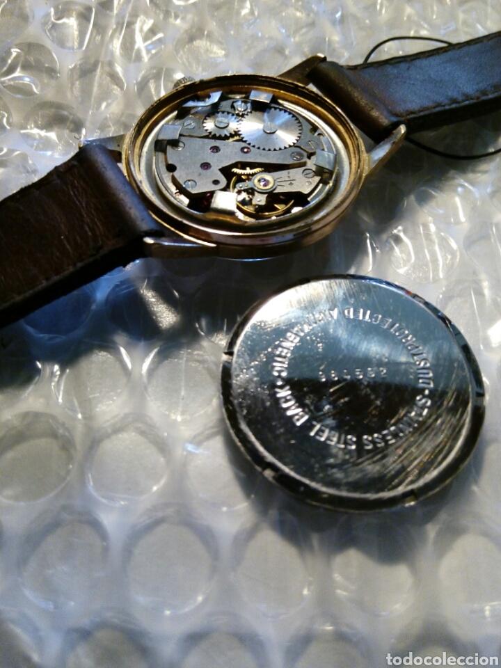 Relojes de pulsera: Reloj Yema, chapado en oro, perfecto, buen funcionamiento ,coleccionable - Foto 5 - 134055019