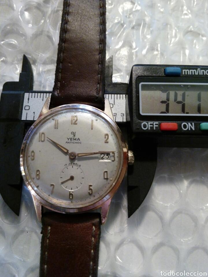 Relojes de pulsera: Reloj Yema, chapado en oro, perfecto, buen funcionamiento ,coleccionable - Foto 8 - 134055019