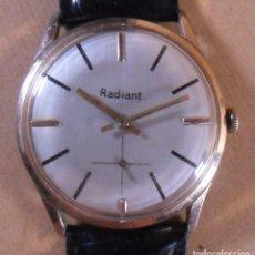 Relojes de pulsera: VINTAGE RELOJ SUIZO RADIANT MECÁNICO DE PULSERA PARA HOMBRE- 17 JEWELS. Lote 134235762
