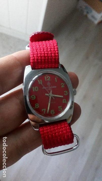 VINTAGE RELOJ SUIZO HENRI SANDOZ NUEVO DEPORTIVO (Relojes - Pulsera Carga Manual)