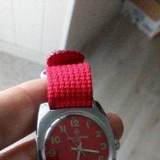 Relojes de pulsera: VINTAGE RELOJ SUIZO HENRI SANDOZ NUEVO DEPORTIVO . Lote 134576470