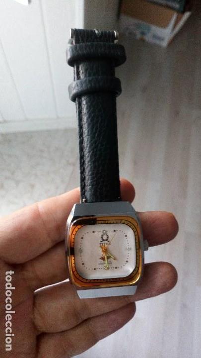Relojes de pulsera: VINTAGE RELOJ SUIZO TITUS NUEVO DEPORTIVO - Foto 3 - 134755542