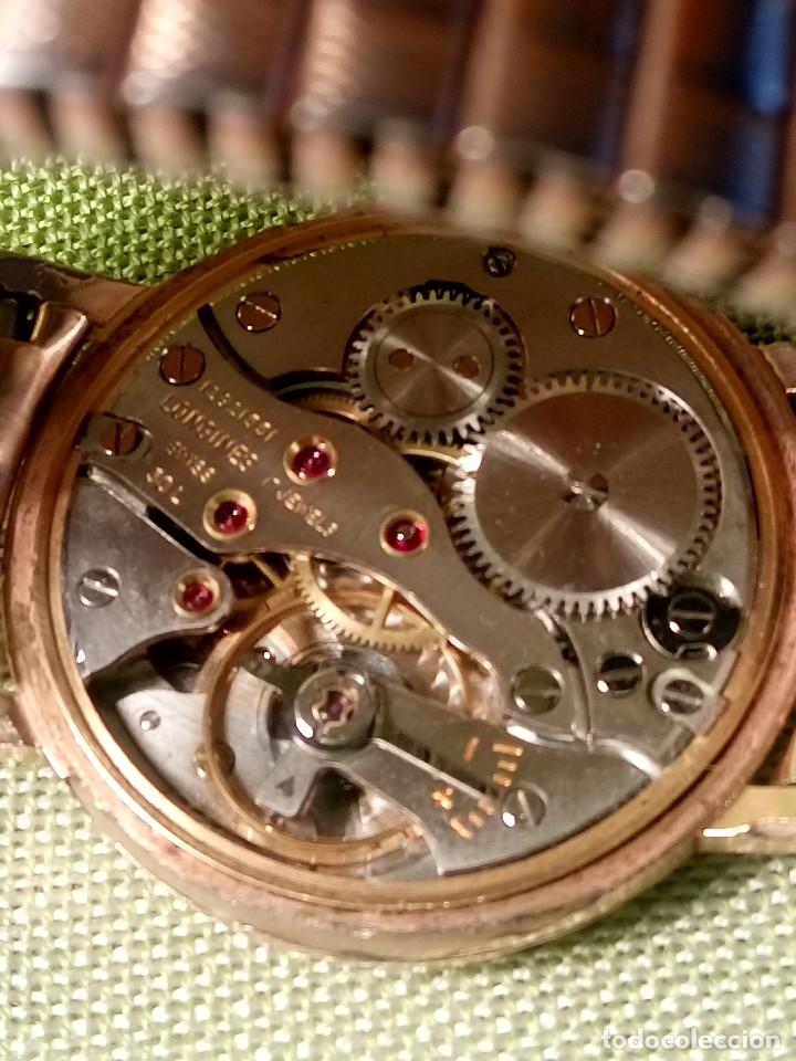 Relojes de pulsera: LONGINES FLAGSHIP 30 L - MANUAL. AÑOS 60. FUNCIONANDO. P.ORO 20 M. 34.7 S/C. DESCRIPCION Y FOTOS. - Foto 13 - 134818610