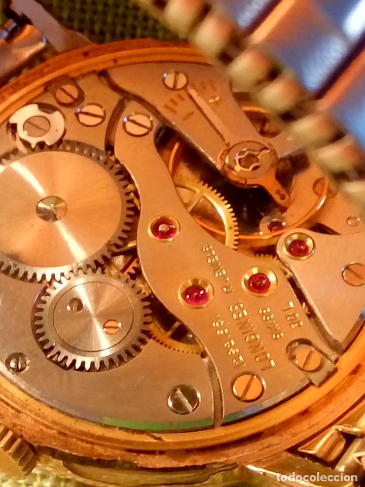 Relojes de pulsera: LONGINES FLAGSHIP 30 L - MANUAL. AÑOS 60. FUNCIONANDO. P.ORO 20 M. 34.7 S/C. DESCRIPCION Y FOTOS. - Foto 15 - 134818610