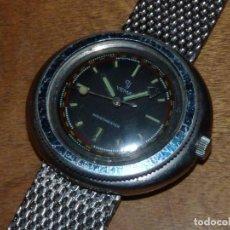 Relojes de pulsera: IMPRESIONANTE RELOJ YEMA SCUBA DIVER MONOBLOQUE CALIBRE JEAMBRUN 26D CARGA MANUAL VINTAGE AÑOS 60. Lote 134866246