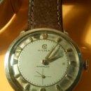 Relojes de pulsera: RELOJ CYMA - MANUAL. FUNCIONANDO. CAL, R-458 - 17 R. P. ORO. 20 MICRAS. ESFERA A RAS. 32.8 MM. INFOR. Lote 135100422