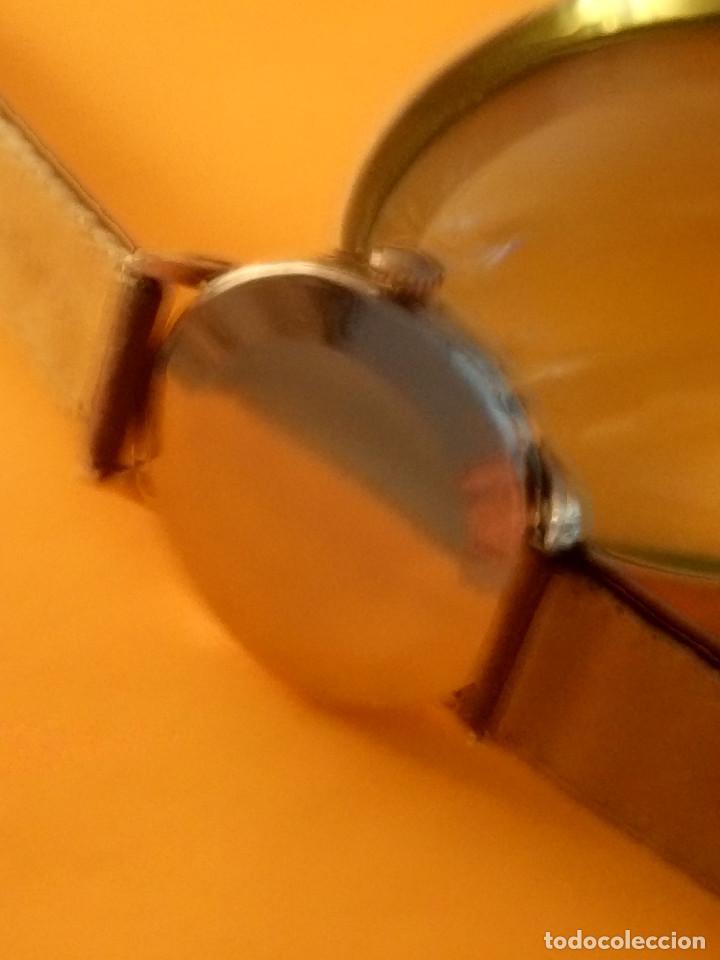 Relojes de pulsera: RELOJ CYMA - MANUAL. FUNCIONANDO. CAL, R-458 - 17 R. P. ORO. 20 MICRAS. ESFERA A RAS. 32.8 MM. INFOR - Foto 4 - 135100422
