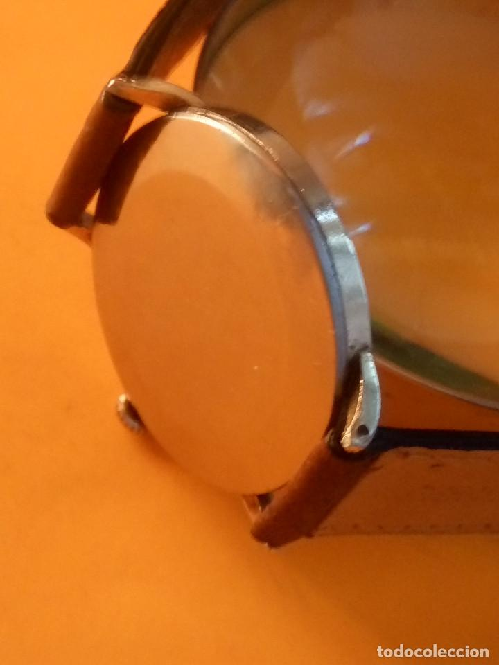 Relojes de pulsera: RELOJ CYMA - MANUAL. FUNCIONANDO. CAL, R-458 - 17 R. P. ORO. 20 MICRAS. ESFERA A RAS. 32.8 MM. INFOR - Foto 5 - 135100422