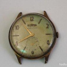 Relojes de pulsera: RELOJ DOGMA PRIMA CHAPADO EN ORO. Lote 135393634