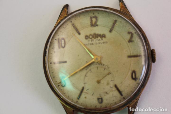 Relojes de pulsera: reloj dogma prima chapado en oro - Foto 2 - 135393634