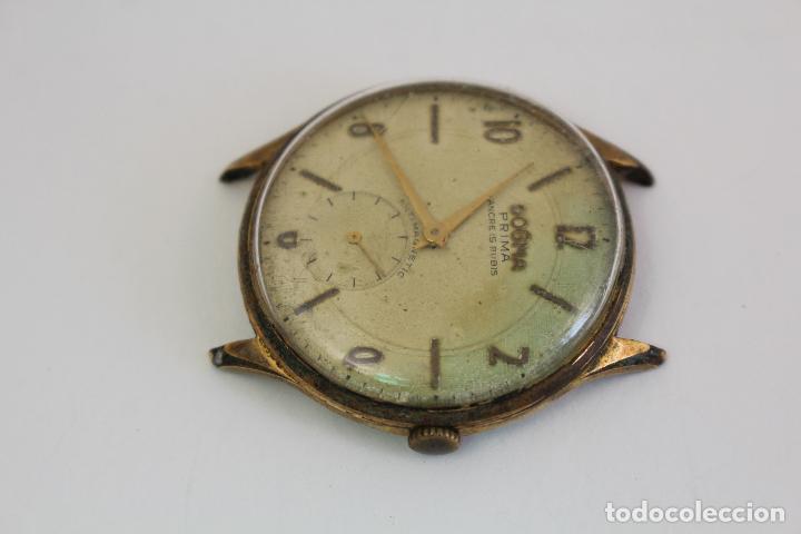 Relojes de pulsera: reloj dogma prima chapado en oro - Foto 3 - 135393634