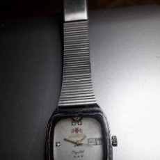 Relojes de pulsera: PRECIOSO RELOJ ORIENT CRYSTAL CARGA MANUAL, FUNCIONA PERFECTAMENTE. Lote 135452977