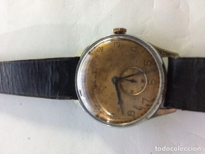 Relojes de pulsera: Antiguo CYMA de carga manual. Limpiado en relojería y cristal nuevo - Foto 5 - 135577578