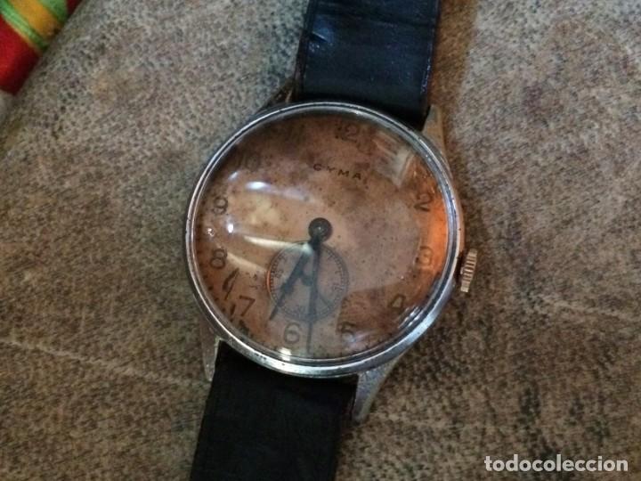 Relojes de pulsera: Antiguo CYMA de carga manual. Limpiado en relojería y cristal nuevo - Foto 10 - 135577578