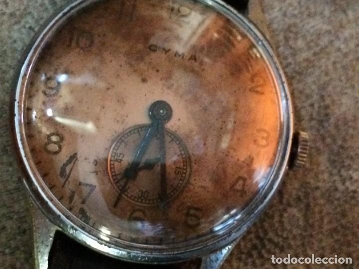 Relojes de pulsera: Antiguo CYMA de carga manual. Limpiado en relojería y cristal nuevo - Foto 11 - 135577578