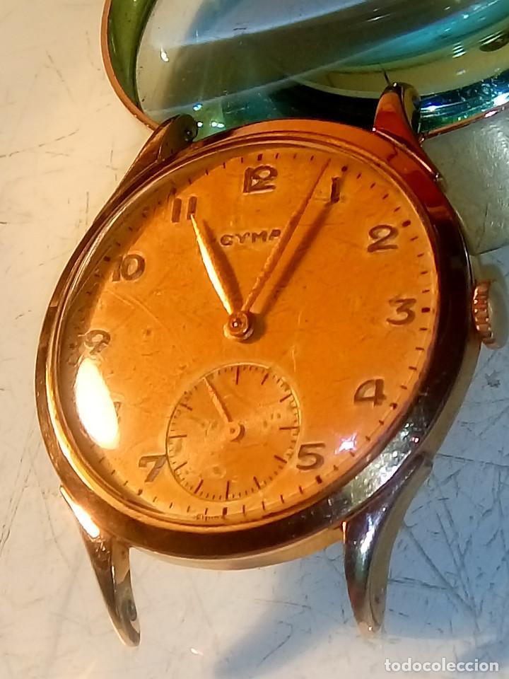 Relojes de pulsera: CYMA - MANUAL. AÑOS 50. P.ORO 20 MICRAS. 38.4 S/C 40.1 C/C.FUNCIONANDO. INFO EN DESCRIPCION. - Foto 2 - 135866166