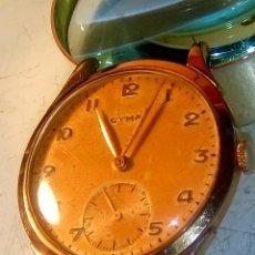 Relojes de pulsera: CYMA - MANUAL. AÑOS 50. P.ORO 20 MICRAS. 38.4 S/C 40.1 C/C.FUNCIONANDO. INFO EN DESCRIPCION.. Lote 135866166