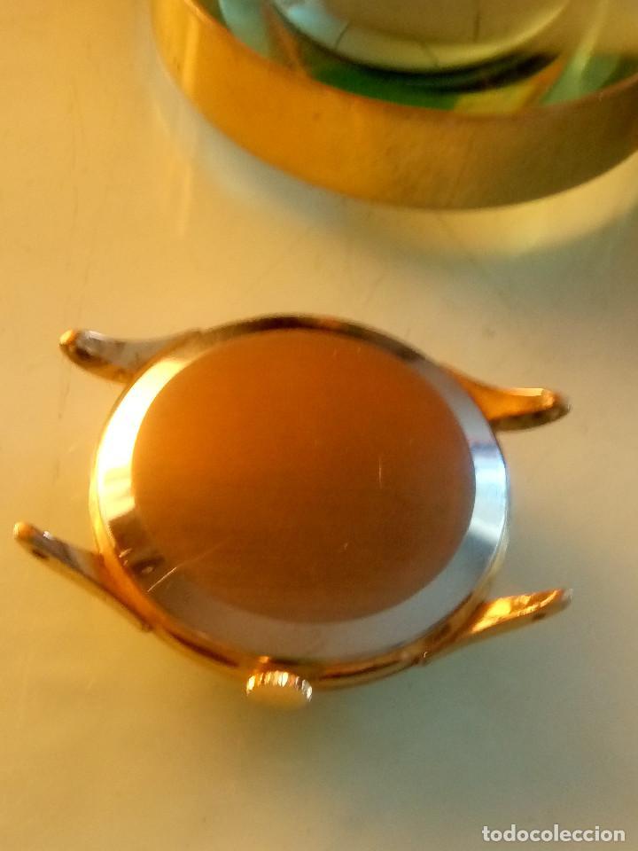 Relojes de pulsera: CYMA - MANUAL. AÑOS 50. P.ORO 20 MICRAS. 38.4 S/C 40.1 C/C.FUNCIONANDO. INFO EN DESCRIPCION. - Foto 10 - 135866166