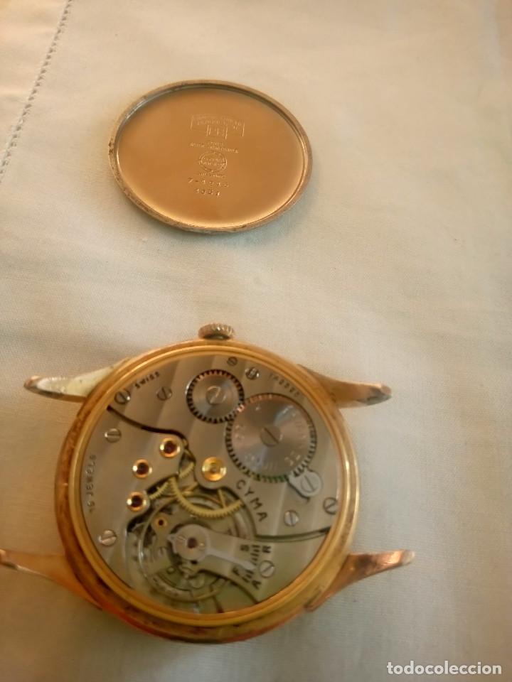 Relojes de pulsera: CYMA - MANUAL. AÑOS 50. P.ORO 20 MICRAS. 38.4 S/C 40.1 C/C.FUNCIONANDO. INFO EN DESCRIPCION. - Foto 14 - 135866166