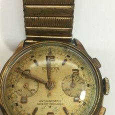 Relojes de pulsera: RELOJ POTENS CHRONOGRAPH ANTIGUO AÑOS 1950 CAGA CHAPADA EN FUNCIONAMIENTO. Lote 142721349