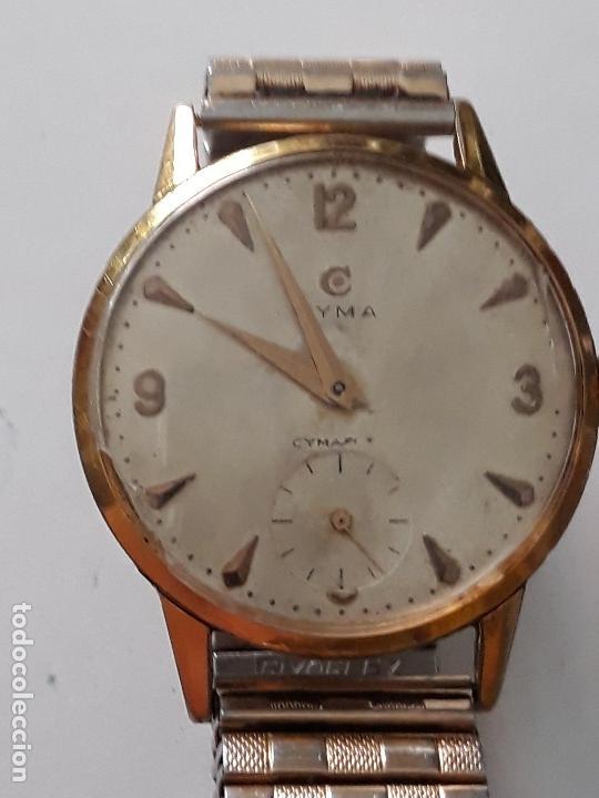 Relojes de pulsera: reloj de pulsera caballero carga manual cyma ref 866 k, 369679 ver descripcion y fotos - Foto 2 - 136201722